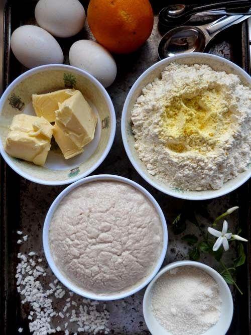 Todos listo para la rosca de pascua de Petrona: ingredientes