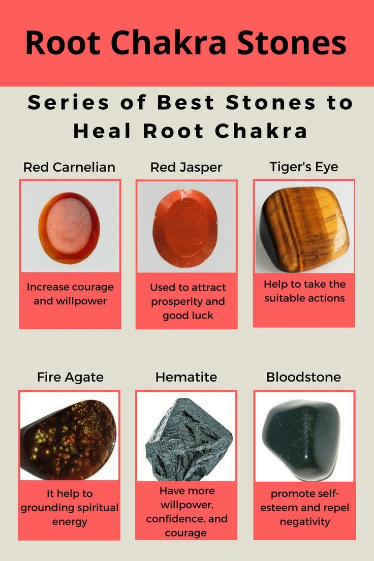 how to use root chakra stones