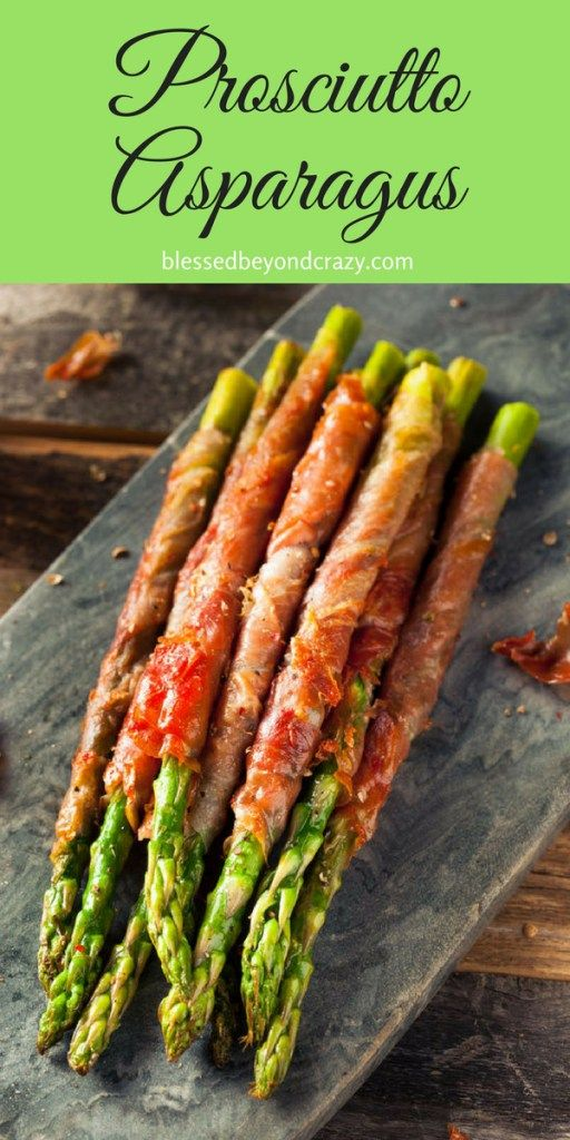 New post! Perfect as an GF appetizer or side dish. #blessedbeyondcrazy #appetizer #asparagus #glutenfree #prosciutto