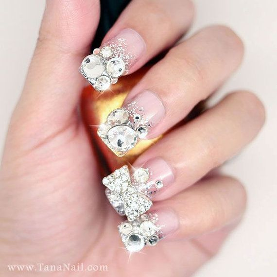 1673 best nails art and design images on pinterest pretty nails nail 3d art prinsesfo Gallery
