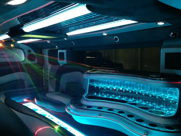 Full Bar right at your fingertips! Our Limousines service Gold Coast, Brisbane, Sunshine Coast and Byron Bay!