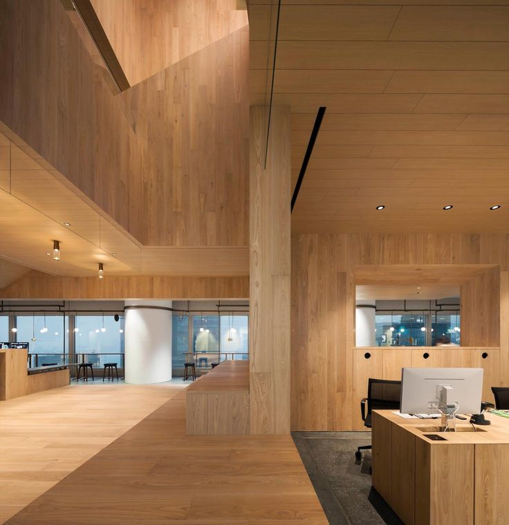 Bloomberg Wooden Hong Kong Office By Neriu0026Hu Design And Research Office    CAANdesign   Architecture And