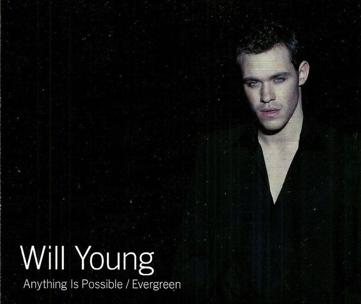 #WillYoung :  Anything Is Possible / Evergreen - #SouthAfrica Edition Single #CD