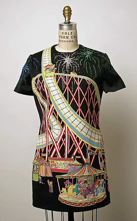 Christian Francis Roth - Embroidered and Appliqued Fairground Dress - 1996