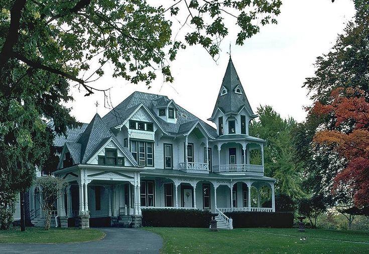 Викторианская архитектура американских пригородов