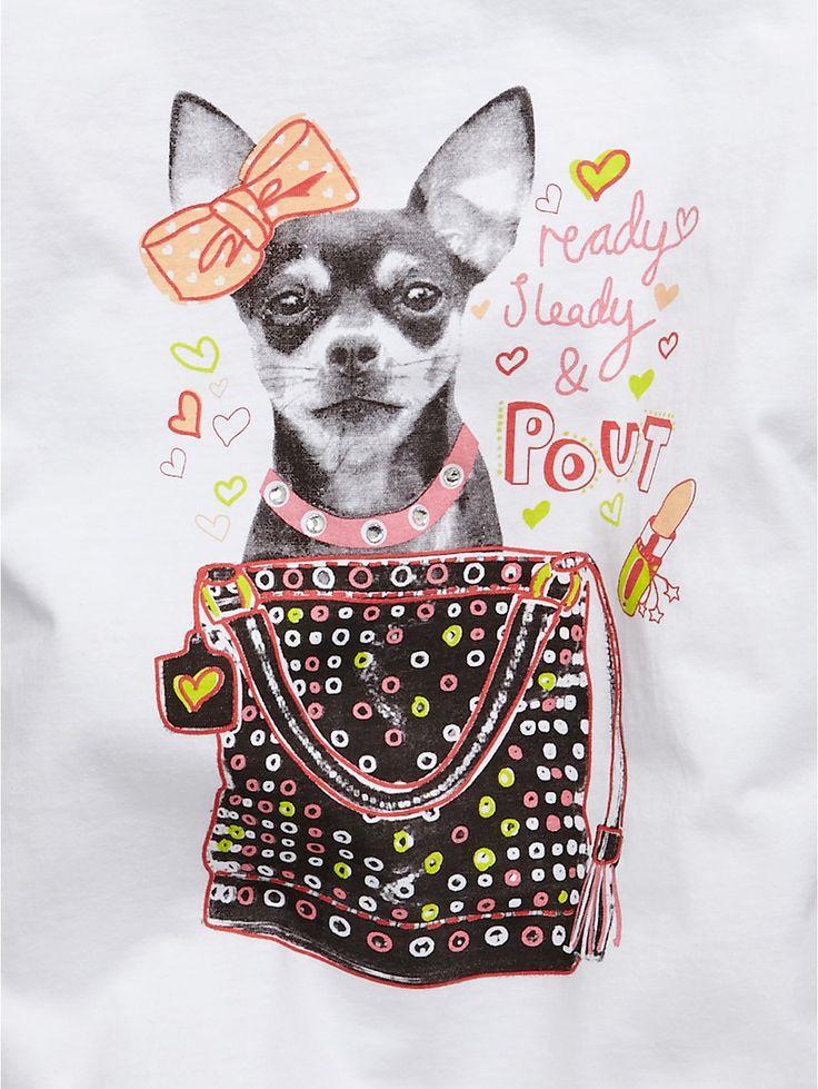 Freespirit Dog and Perfume Embellished Tops (2 Pack) | very.co.uk