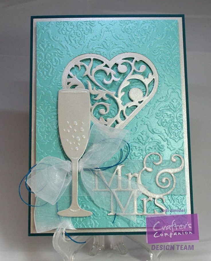Card created by Jodi Amidei using the Together Forever collection from #crafterscompanion