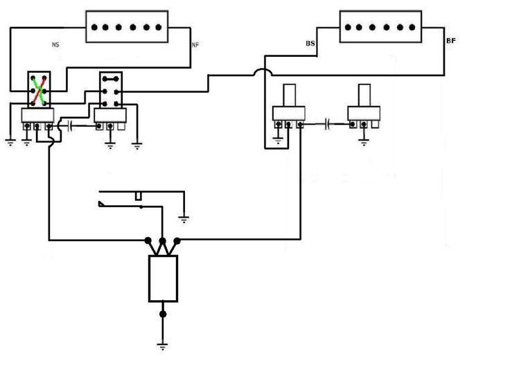 4 way telecaster wiring diagram p90 neck