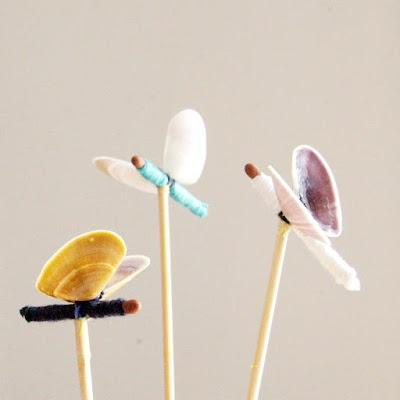 BUTTERFLIESCrafts Ideas, The Fairies, Seashells Crafts, Paper, Kids Crafts, Fairy, Butterflies Parties, Seashells Butterflies, Crafts Made With Seashells