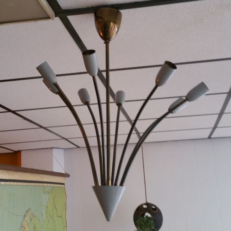 Located using retrostart.com > Sputnik Spider Hanging Lamp by Unknown Designer for Unknown Manufacturer