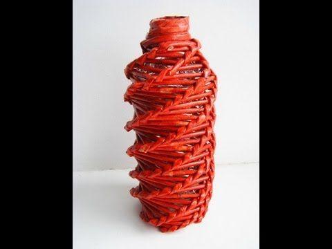 Спиральное плетение из газет. Часть 1, 2 - Узоры.Мастер-классы