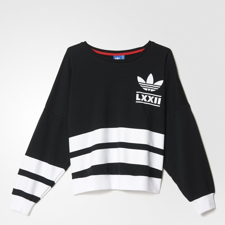 adidas Berlin Logo 3-Stripes Crew Sweatshirt - Black | adidas UK