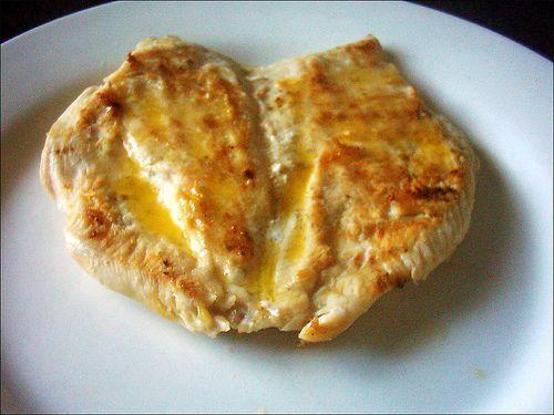 Receta para bajar el colesterol y trigliceridos: pollo a la plancha