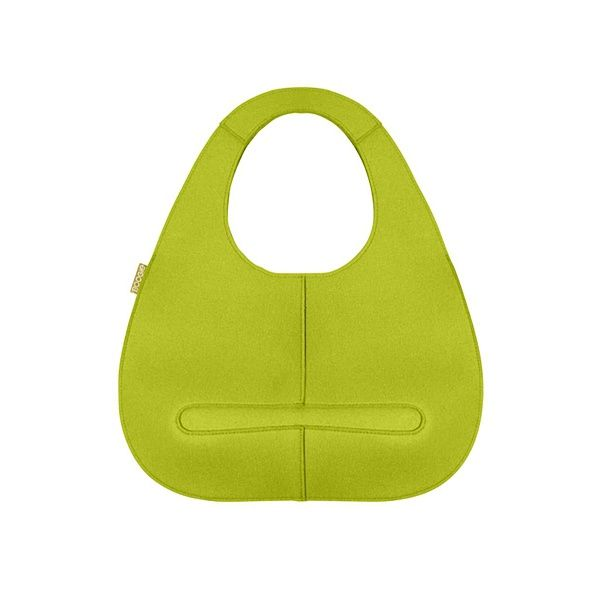 EGG felt bag - Boogie Design  EGG bag is made of natural woolen felt, which you can choose in a variety of attractive colours.