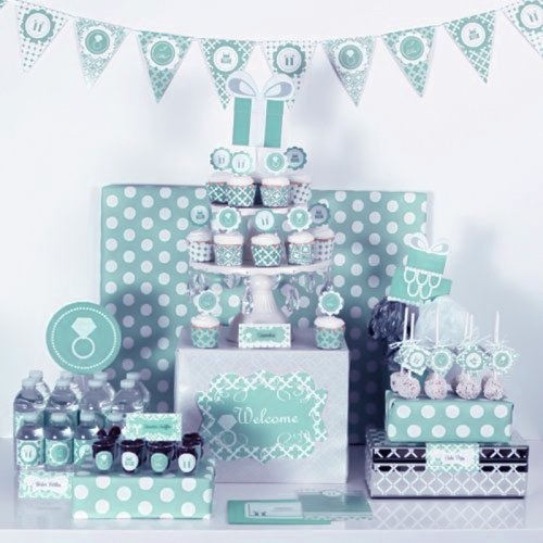 Target Wedding Invitations Kits: 17 Best Images About Blue Themed Party On Pinterest
