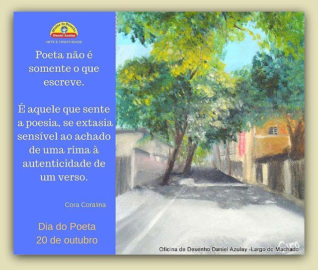 Oficina de Desenho Daniel Azulay Largo do Machado - Cursos para Crianças, Adolescentes e Adultos: Dia do Poeta