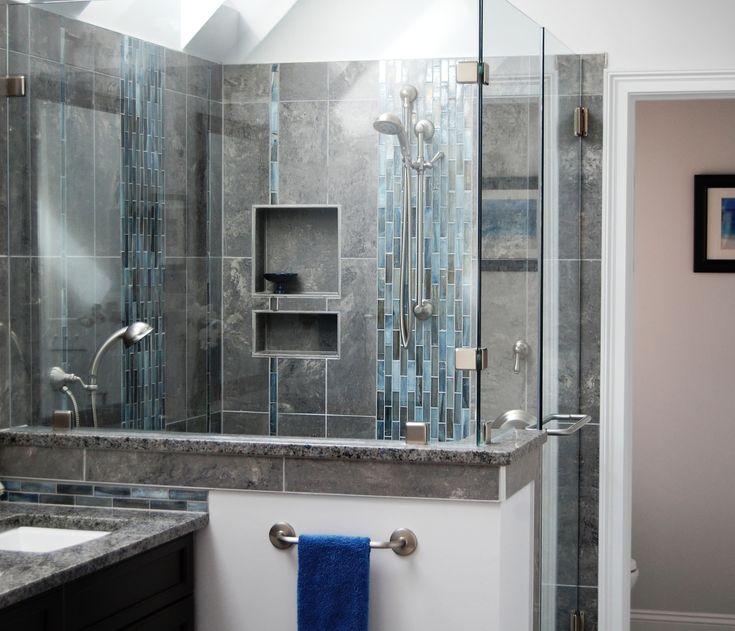 Bathroom Renovation At The Lake | Karen Kettler Design | Charlotte, NC