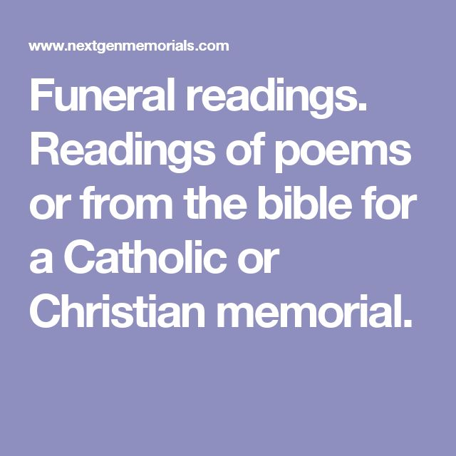 Christian Funeral Bible Quotes: 25+ Best Ideas About Funeral Readings On Pinterest
