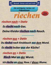 German grammar - Riechen