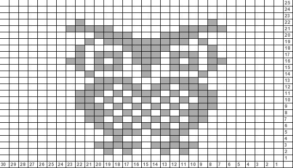 Tricksy Knitter Charts: Owl (78671)
