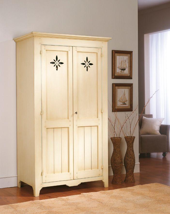 Armario de entrada r stico tricias muebles armarios de for Muebles vanitorios rusticos