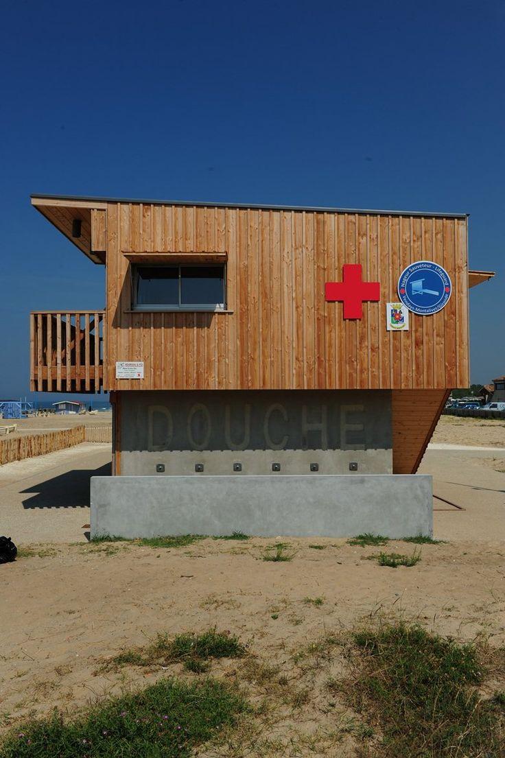 Poste de Secours, Vendays-Montalivet, 2013 - H27architectes - marc benayoun