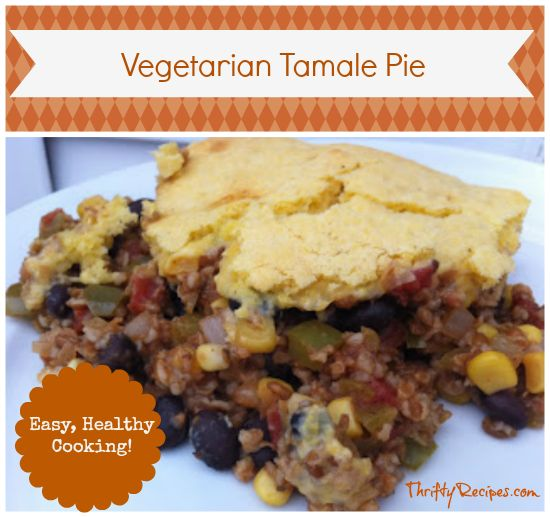 This Vegetarian Tamale Pie Recipe with a cornbread top is a favorite in our house. In this meatless version, we substitute bulgur wheat for the traditional ground beef with bulgur wheat. Believe …