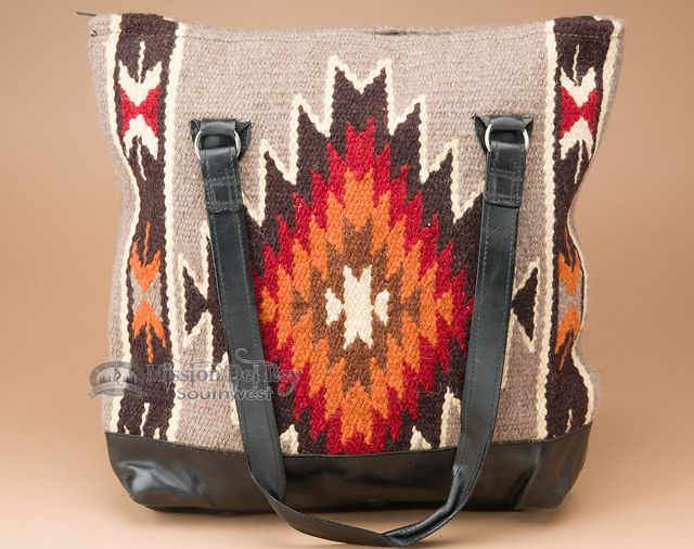 Hand Woven Western Zapotec Wool Purse - Mission Del Rey Southwest