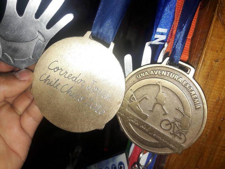Medalla finalista Corredor más joven  3er  lugar expertos 👍👌👌👌 #carrerajeinimeni #aseguir #entrenarconmasganas #grandia #happy