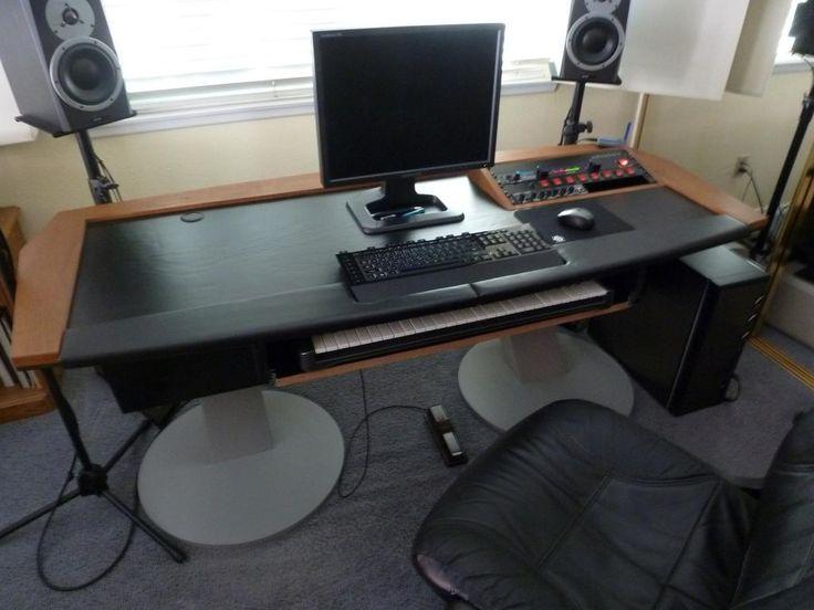 1000 images about diy music production desk ideas on pinterest sliding shelves keyboard and. Black Bedroom Furniture Sets. Home Design Ideas