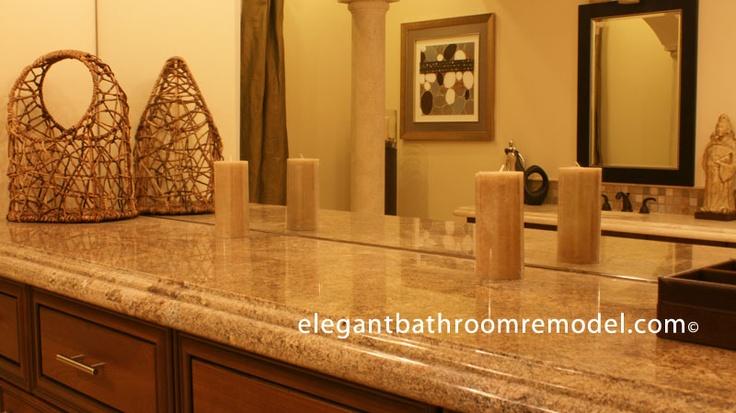 Countertop Lip : Bathroom Countertop and an overhang lip.