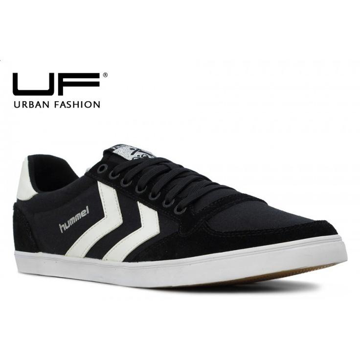Zapatos negros casual Hummel Stadil para hombre 0KPsAgL