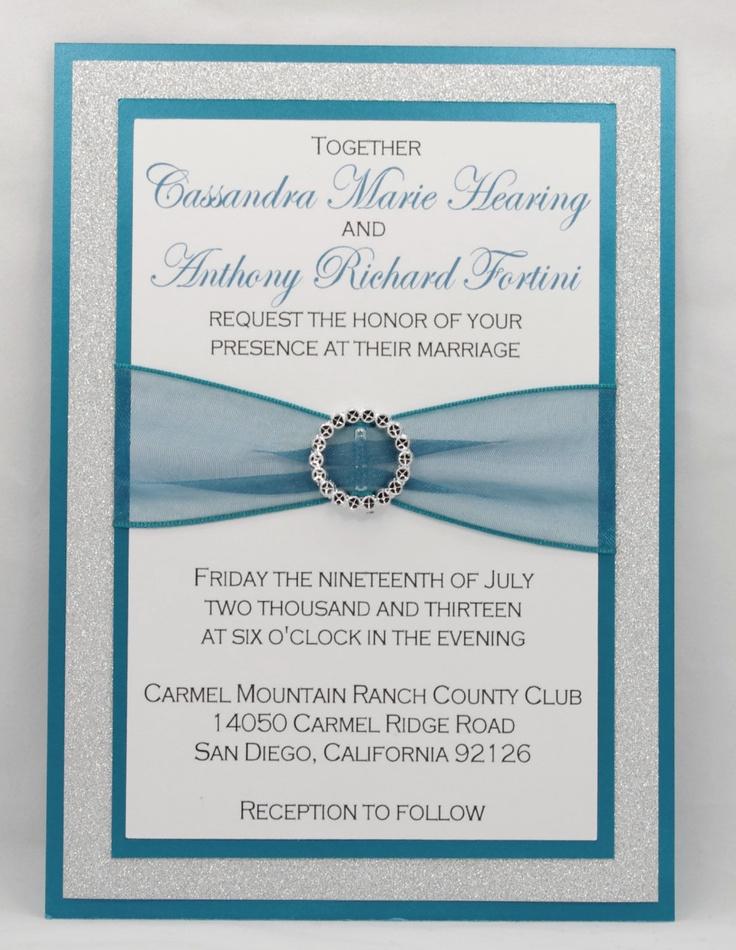 109 best Diy Wedding invitations images on Pinterest   Cards ...