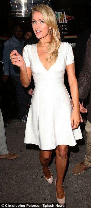 Paris Hilton + Dress