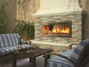 35 best Outdoor Fireplaces images on Pinterest | Gas fireplaces ...