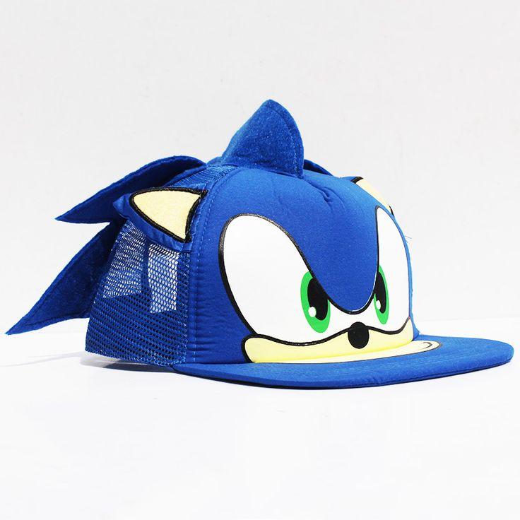 sonic the hedgehog baseball cap