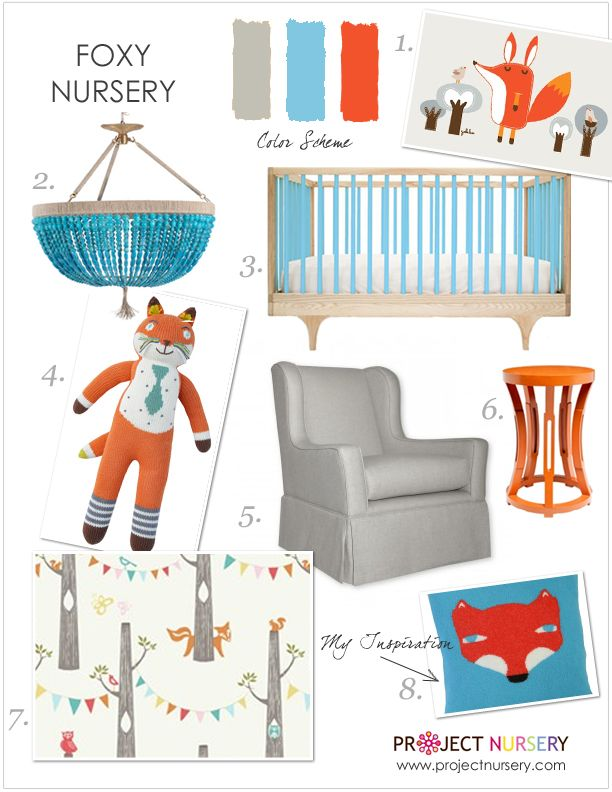2014 is totally the year of the fox (in the nursery, at least!) - here's a design board for a nursery featuring this furry friend! #nursery #designboard #foxBoys Nurseries, Foxes Theme, Design Boards, Foxes Nurseries, Kids Room, Nurseries Design, Theme Nurseries, Nurseries Ideas, Foxy Nurseries