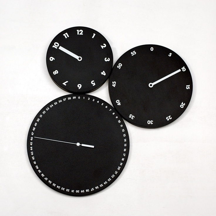 Fab.com   HMS Wall Clock Black