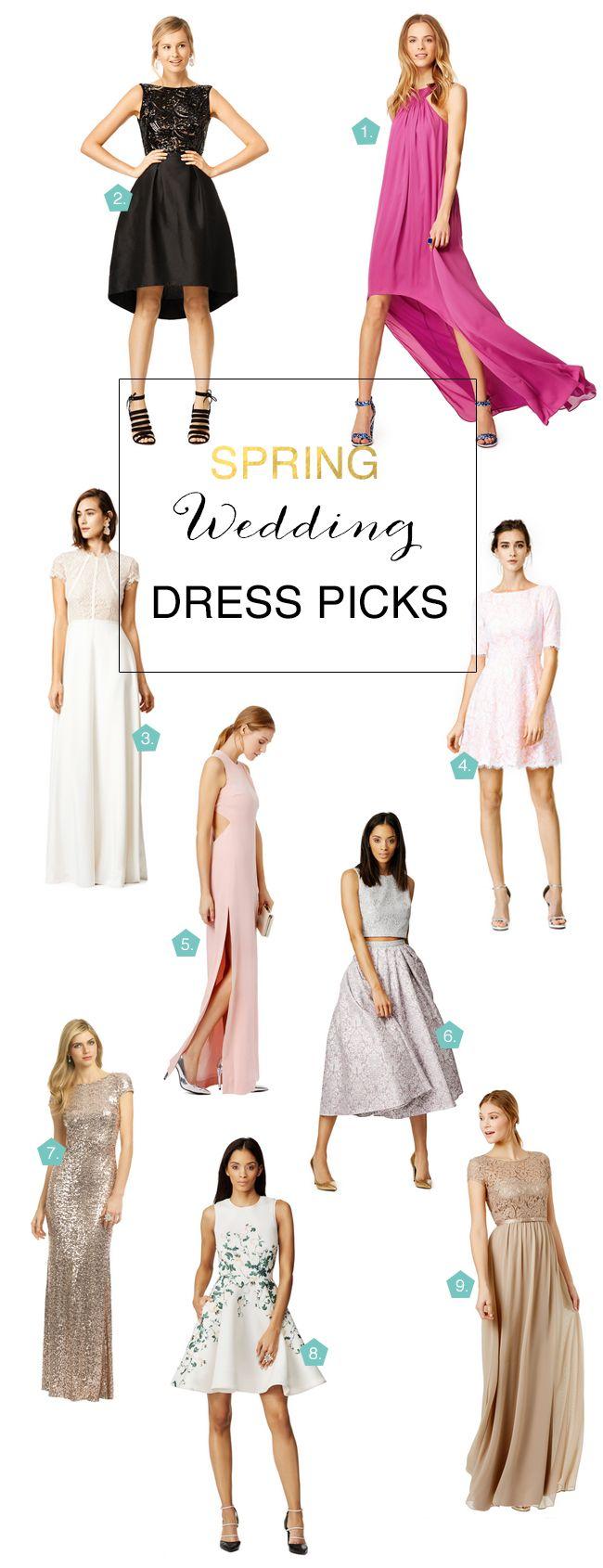 Spring Wedding Dress Picks For Guests