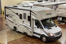 New 2017 2200 Class C Diesel Motorhome with Slide Out Mercedes Benz Chassis