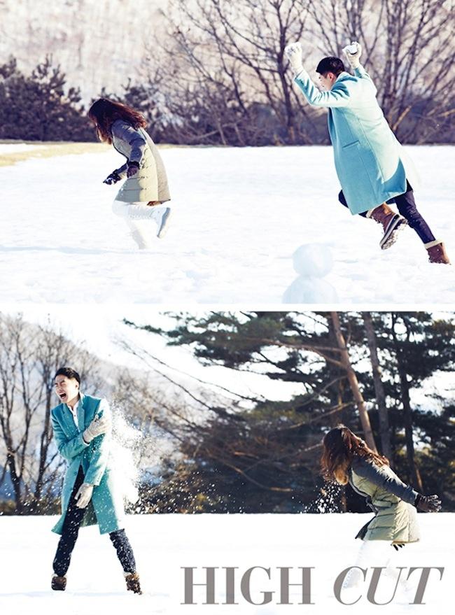 Song Hye Kyo & Jo In Sung for High Cut Korea