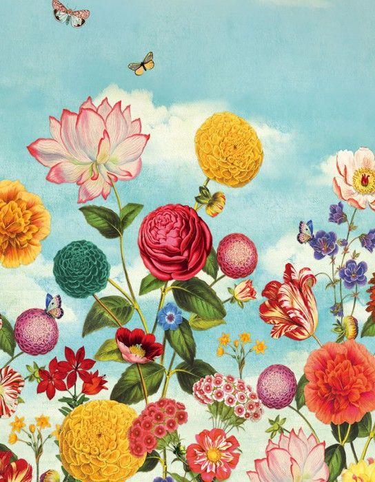 Dido | Papier peint des années 70