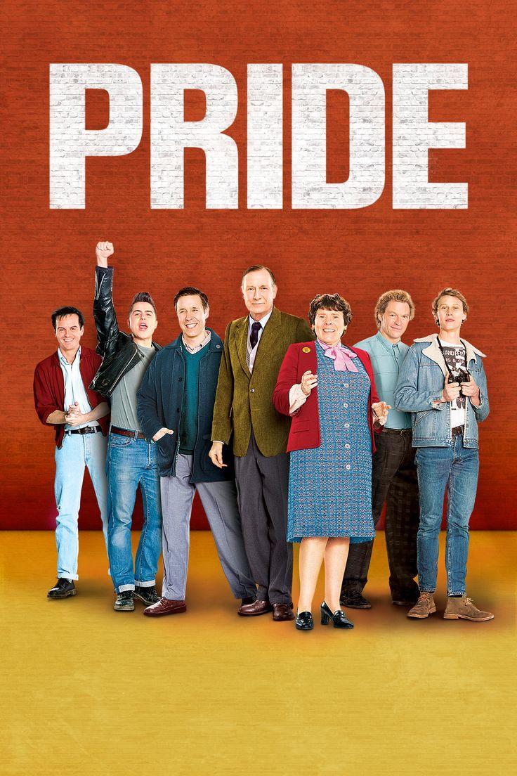 Pride Movie Poster - Bill Nighy, Andrew Scott, Dominic West  #Pride, #BillNighy, #AndrewScott, #DominicWest, #MatthewWarchus, #Comedy, #Art, #Film, #Movie, #Poster