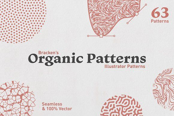 Organic Patterns For Illustrator Organic Pattern Organic