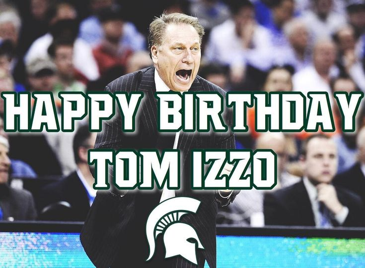 Happy Birthday to the GOAT Tom Izzo! It is amazing too see what he has been able to do with our basketball program more amazing years to come in the future - - - #MichiganState #Spartans #Sparty #SpartyUp #SpartyOn #SpartanDawgs #SpartanNation #Spartangameday #SpartansWill #MSUBasketball #SpartansBasketball #Basketball #CollegeBasketball #NCAA #v4msu #GoGreen #GoWhite #BeatPennState