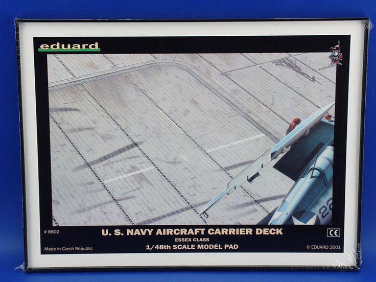 US Navy Aircraft Carrier Deck 1/48 Eduard