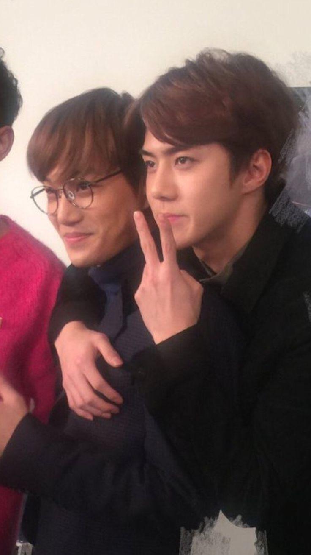 Kai and Sehun X3