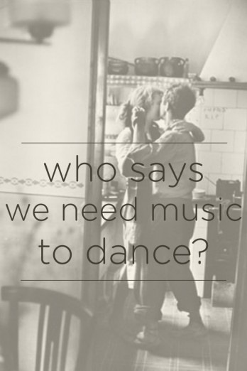 Dancing without music