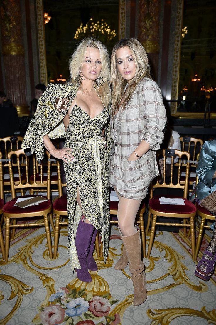 Pamela Anderson et Rita Ora