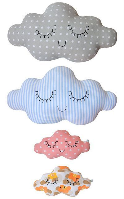 17 mejores ideas sobre dise os de bordados en pinterest for Cojines de nubes